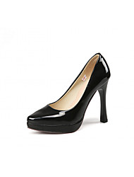 Women's Heels Spring / Summer / Fall Platform / Comfort / Novelty Synthetic / Patent Leather / LeatheretteWedding /