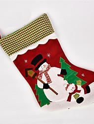 Недорогие -Носки Костюмы Санта Клауса Снеговик Рождественский декор Новогодние подарки Милый Мультяшная тематика Высокое качество Мода текстильный Мальчики Девочки Игрушки Подарок