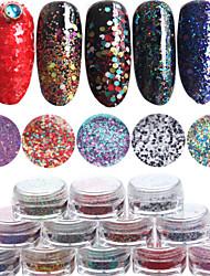 12pcs/set Nail Art ukras rhinestone biseri šminka Kozmetički Nail art dizajn