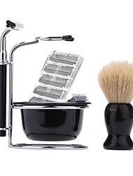economico -Rasatura manuale Viso Baffi e barbe Manuale Accessori per la rasatura N/D Rasatura a bagnato/secco Acciaio inossidabile