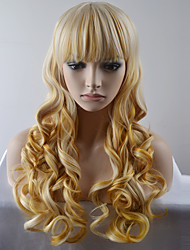 cheap -Synthetic Hair Wigs Natural Wave Capless Carnival Wig Halloween Wig Natural Wigs Long Very Long Synthetic Wig