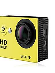 N9 Action cam / Sport cam 16MP 4000 x 3000 Wi-Fi Regolabili Impermeabile Senza fili 30fps 4X ± 2EV 2 CMOS 32 GB Formato H.264 Inglese