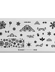 Недорогие -ногтей штамп штамповка изображения шаблон пластины серии прохладно