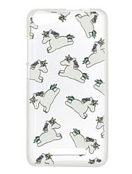 Per wiko lenny 3 tramonto 2 copertura di caso copertina posteriore del cavallo tpu lenny 3 tramonto 2