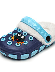 Boy's Slippers & Flip-Flops Spring Summer Fall Winter Comfort Silicone Outdoor Casual Athletic Flat Heel Buckle Flower Blue Pink Red Navy