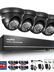 cheap -SANNCE® 720P Outdoor IR Home Security Camera 1080N 4CH HD DVR CCTV System