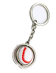 Key Chain Toys Baseball Metal Pieces Boys' Girls' Gift