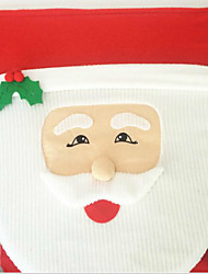 Babbo Natale coperchio del WC occhi di pesce 43 * 33 centimetri