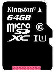 Kingston 64GB マイクロSDカードTFカード メモリカード UHS-1 クラス10