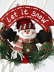 noël aiguilles guirlande de pin décoration de Noël pour le diamètre maison parti 20cm navidad nouvelles fournitures année