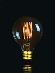 bofa g80 lampe boule de bulle d'edison de soie antique de 13ak 40w (85v-265v)