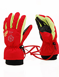 Winter Gloves Ski Gloves Kid's Full-finger Gloves Keep Warm Breathable Nylon Cotton Ski & Snowboard Leisure Sports Autumn/Fall Winter