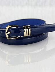 Feminino Vintage Cinto para a Cintura,Sólido