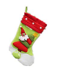 Holiday Props Holiday Supplies Holiday Decorations Christmas Gifts Gift Bags Toys Socks Santa Suits Elk Snowman Boys' Girls' 1 Pieces