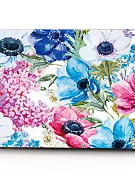 cheap -MacBook Case / Laptop Cases Flower Plastic for MacBook Air 13-inch / Macbook Pro 13-inch / Macbook Air 11-inch