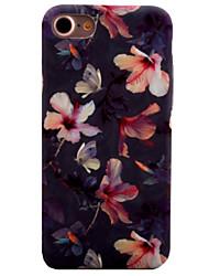 preiswerte -Für iPhone 8 iPhone 8 Plus iPhone 7 iPhone 7 Plus iPhone 6 Hüllen Cover Muster Rückseitenabdeckung Hülle Blume Hart PC für Apple iPhone 8