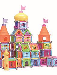 Недорогие -Магнитные игрушки Магнитный конструктор Магнитные плитки Магнитные игрушки пластик Милый Детские / Взрослые Мальчики Девочки Игрушки Подарок