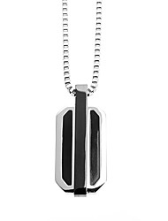 cheap -Fashion Men's 316L Stainless Steel Pendant Necklace