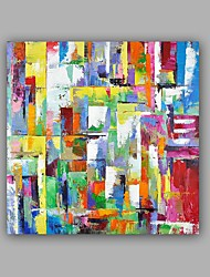 cheap -Hand-Painted Abstract 100% Hang-Painted Oil PaintingModern / Classic One Panel Canvas Oil Painting For Home Decoration