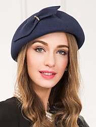 Women's Alloy Wool Headpiece-Wedding Special Occasion Casual Fascinators Hats 1 Piece