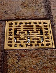 abordables -Accessoire de robinet - Qualité supérieure - Antique Laiton Drain de plancher - terminer - Laiton Antique