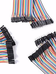 cheap -Universal Male to Male / Male to Female / Female to Female DuPont Cables Set for Arduino