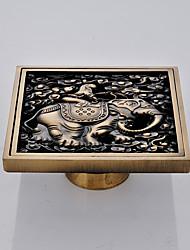 abordables -Accessoire de robinet - Qualité supérieure - Moderne Laiton Drain de plancher - terminer - Laiton Antique