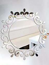 Shapes 3D Wall Stickers Mirror Wall Stickers Decorative Wall Stickers,Vinyl Home Decoration Wall Decal For Wall