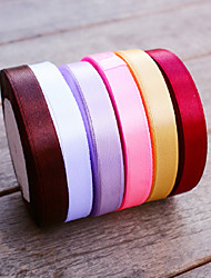 cheap -W 1.2cm L 22.5m (0.5inch 25yard) Color Satin Ribbon Beter Gifts® DIY Wedding Gifts Packaging Materials