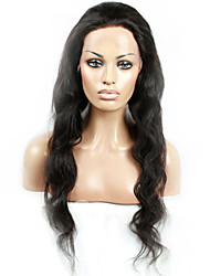 cheap -Human Hair Full Lace / Lace Front Wig Body Wave Wig 130% Natural Hairline / African American Wig / 100% Hand Tied Women's Short / Medium Length / Long Human Hair Lace Wig