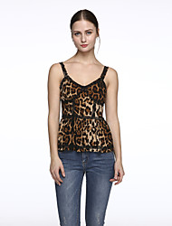 cheap -Women's New Style Leopard Print Sexy Strap Waistcoat