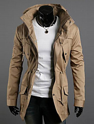 cheap -Men's double high collar coat of cultivate one's morality Leisure fashion multicolor jacket GESE6