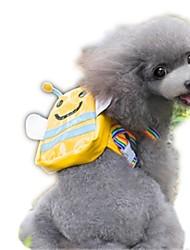 Chat Chien Dog Paquet Animaux de Compagnie Transporteur Portable Mignon Jaune