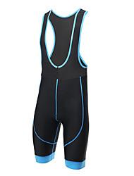 preiswerte -XINTOWN Herrn Fahrradträgerhosen Fahhrad Shorts / Laufshorts / Bib - Shorts / Kurze radhose MIT Trägern / Gepolsterte Shorts 3D Pad,