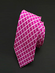 Cravatta-A reteDIPoliestere-Rosso