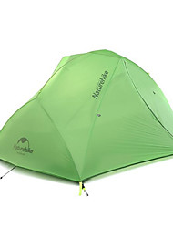 cheap -Naturehike 2 persons Tent Double Camping Tent One Room Backpacking Tents Keep Warm Waterproof Portable Windproof Rain-Proof Foldable
