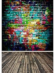 Rainbow Color Background Photo Studio  Photography Backdrops 5x7FT