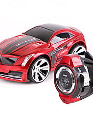 cheap -Car Racing 208001 124 Brush Electric RC Car 10KM/H 2.4G Gray / Red / Blue / Yellow / Green / Orange Voice Control Car with Smart Watch