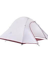 Naturehike 2 personnes Tente Double Tente de camping Tentes de Randonnée Résistant à l'humidité Respirabilité Ultra léger (UL) 4 Saison