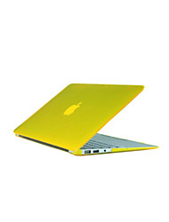 abordables -MacBook Funda para Carcasas de Cuerpo Completo Color sólido ABS Material MacBook Air 13 Pulgadas MacBook Pro 13 Pulgadas MacBook Air 11