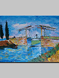 cheap -Oil Painting Hand Painted - Famous Classic Traditional Canvas