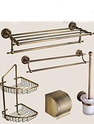 Jogo de Acessórios para Banheiro Neoclássico 140 63 Suporte para Papel Higiênico Prateleira de Banheiro Suporte para Escova de Banheiro