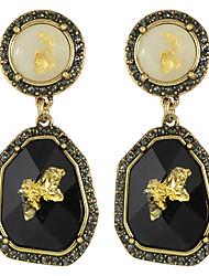 cheap -Women's Drop Earrings - Fashion, Statement Black For Wedding