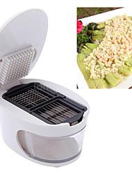 Hvidløg Other For For Vegetable / For Køkkenredskaber / Other Plastik / Rustfrit stålHøj kvalitet / Multifunktion / Creative Kitchen