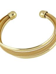 cheap -Women's Cuff Bracelet - Cross, Friends Bracelet Golden For Casual