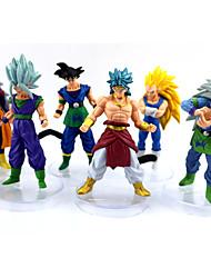 abordables -Figures Animé Action Inspiré par Dragon Ball Goku Manga Accessoires de Cosplay figure PVC