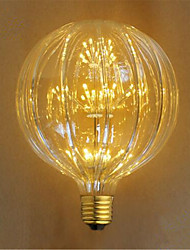 E26/E27 Incandescent Bulbs 49 leds Dip LED Decorative Yellow 100lm 23000K AC 220-240V