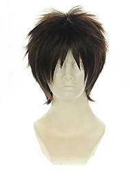 Synthetic Cosplay Wigs  Your Name. Tatami Taki Brown Anti-Alice Cosplay Animation Costume Heat Friendly Fiber Wig