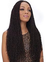 """abordables -Trenzas rizadas Trenzas de cabello torsión de profundidad 24 """" Cabello 100 % Kanekalon Negro Natural Ceniza marrón Medium Golden Brown"""