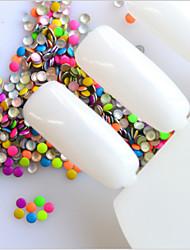 billige -1000 pcs Negle Smykker Negle kunst Manicure Pedicure Daglig glitter / Klassisk / Negle smykker